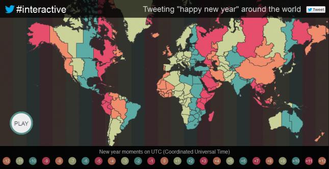 Interaktive Twitter-Map